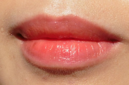 06 Laneige Water Drop Tint Swatch Peach Coral