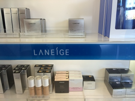 Laneige skincare and makeup
