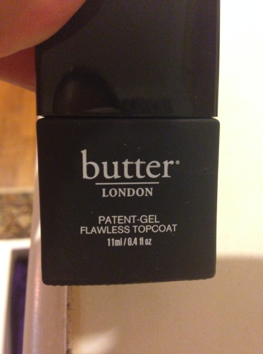 They built me up…butter cup – butter LONDON Patent-Gel Nail Top & Tails Set