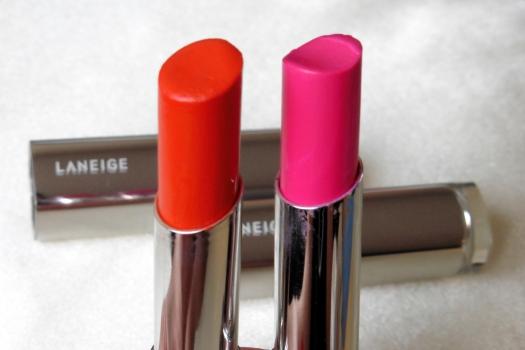 01 Laneige Serum Intense Lipstick YR25 LR07 Review