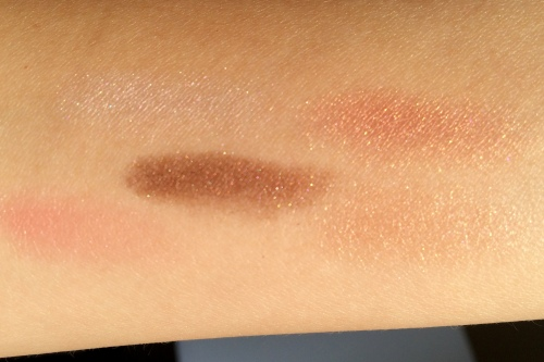 02  Lunasol EX02 Warm Coral Collection Eyeshadow Swatches