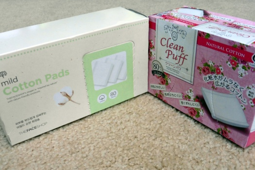 03 The Face Shop Mild Cotton Pads Cotton Labo Clean Puff
