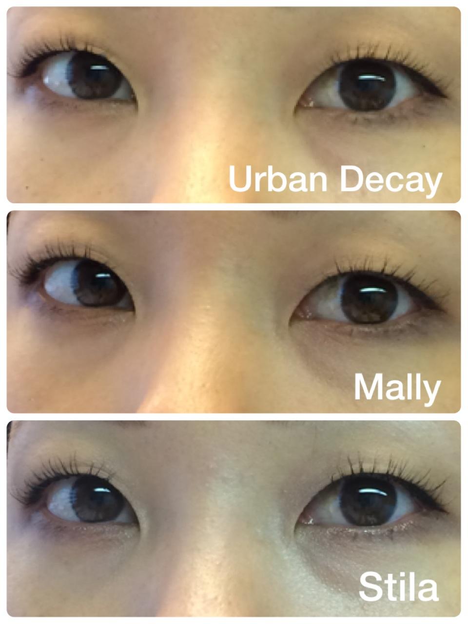 9a43a21fa95 04 Urban Decay Canonball Mally Volumizing Mascara Stila All Day Volumizing  Mascara Review Comparison ...