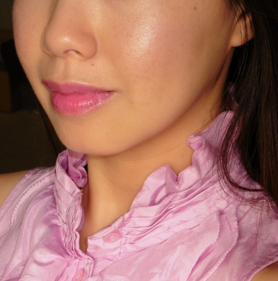 On cheeks: 3CE Duo Color Face Blush in Creme De Violette