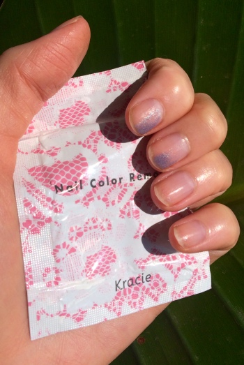02 Kracie Nail Color Remover Sheets Review
