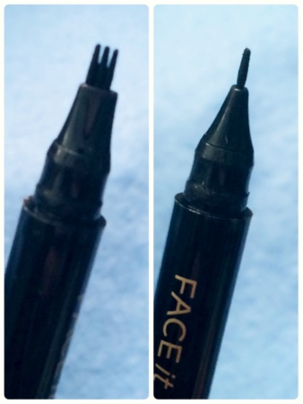 02 The Face Shop Face It Extreme Dot Pen Eyeliner EX in Black Review