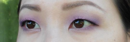 07 Ben Nye LU-17 Cosmic Violet Anna Sui Eyeshadow 201 NYX White Eye Shadow Base Review