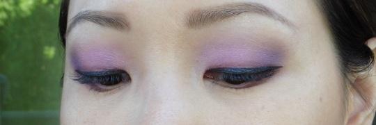 08 Ben Nye LU-17 Cosmic Violet Anna Sui Eyeshadow 201 NYX White Eye Shadow Base Review