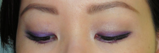 10 Ben Nye LU-17 Cosmic Violet Anna Sui Eyeshadow 201 NYX White Eye Shadow Base Review