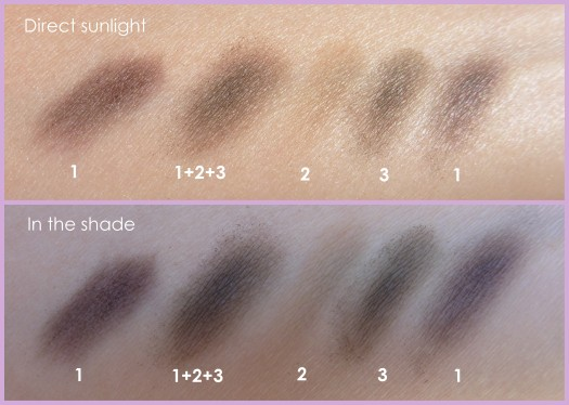 05 Anna Sui Eyebrow Color Compact 03 Ash Brown Swatches