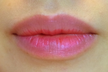 09 TonyMoly Kiss Lover Live Tint #1 Live Pink Review-Faded