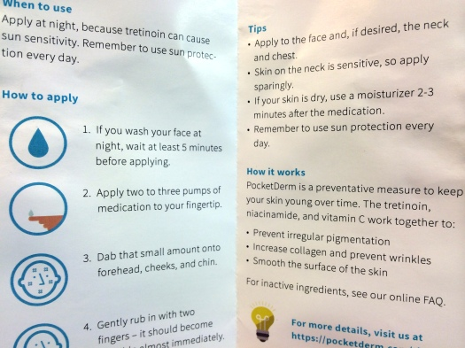 08 PocketDerm Anti-Aging Instructions