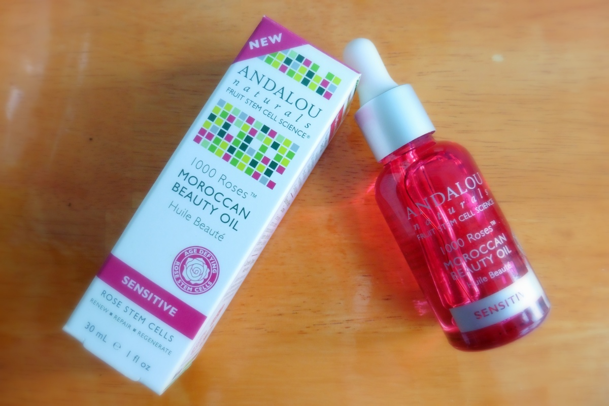 Andalou Naturals  Roses Beauty Oil Review