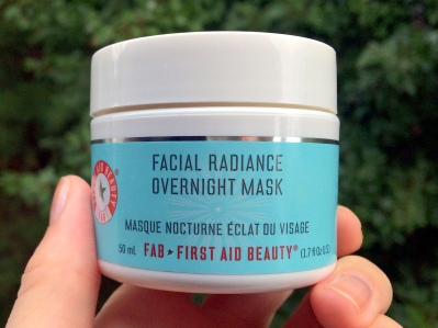 01 First Aid Beauty Facial Radiance Overnight Mask Review