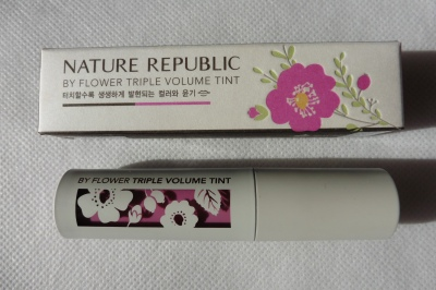 02 Nature Republic By Flower Triple Volume Tint 03 Lilac Review