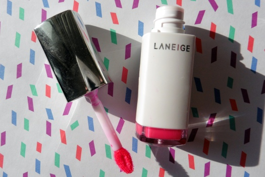 01 Laneige Water Drop Tint Hot Pink Review