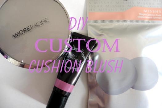 01 DIY Custom Cushion Blush Tutorial