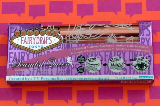 01 Fairydrops Scandal Queen Waterproof Mascara Review