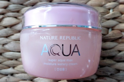 01 Nature Republic Super Aqua Max Moisture Watery Cream Pink Review