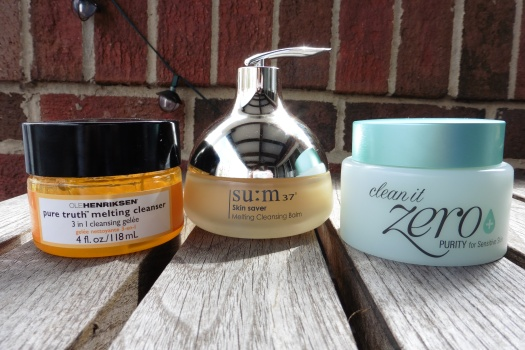01 Ole Henriksen Melting Cleanser sum37 Melting Cleansing Balm Banila Co Clean It Zero Purity Review