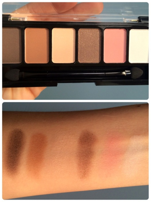 02 NYX Adorable Shadow Palette Swatches