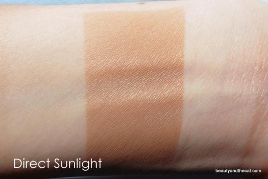 02 Vita Liberata Trystal Bronzing Minerals Swatch-Light Sunkissed