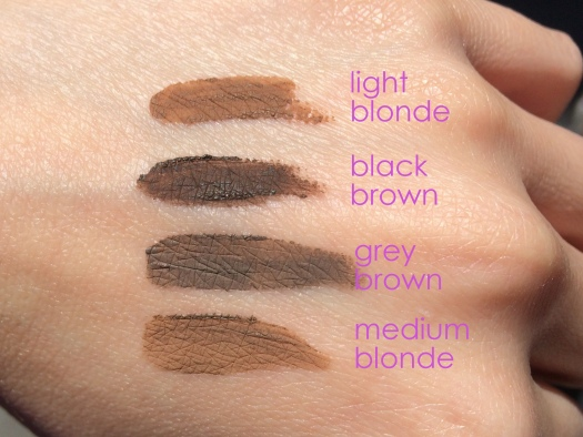 06 Chosungah 22 Dong Gong Minn Brow Maker Swatches-Dry