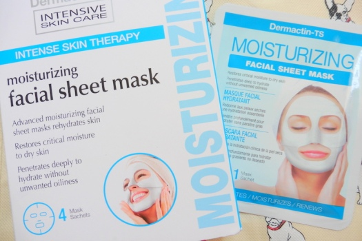 01 Dermactin-TS Moisturizing Facial Sheet Mask Review