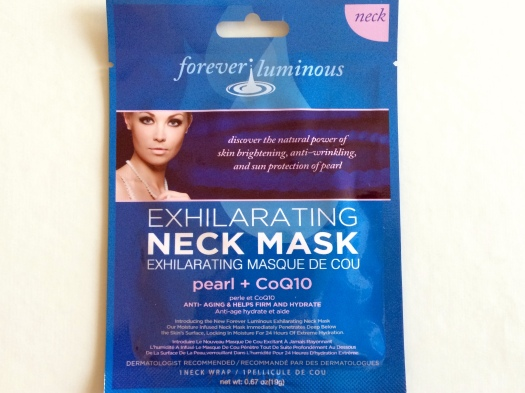01 Forever Luminous Exhilarating Neck Mask Review