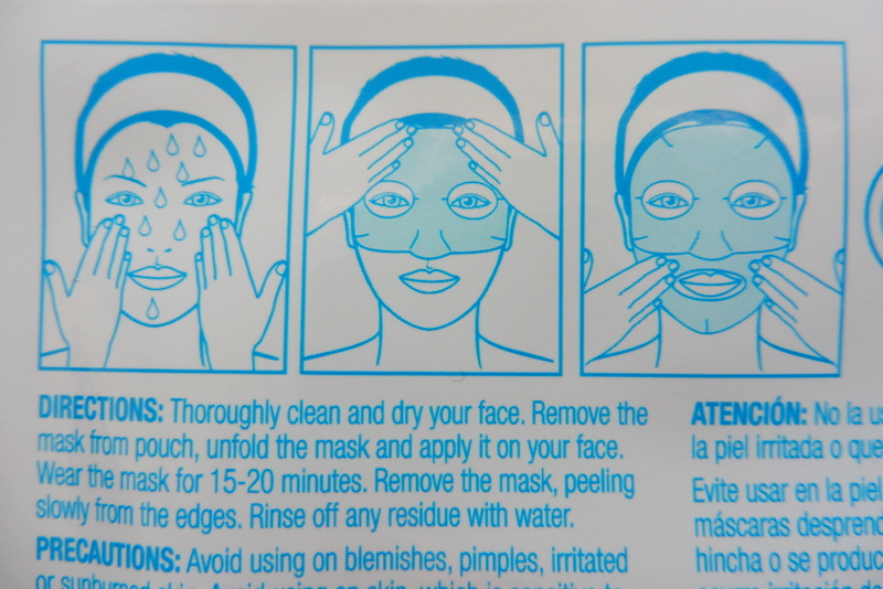 Gotta move facial mask directions