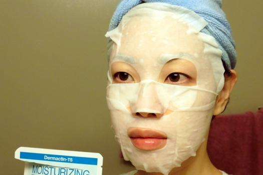 04 Dermactin-TS Moisturizing Facial Sheet Mask Review
