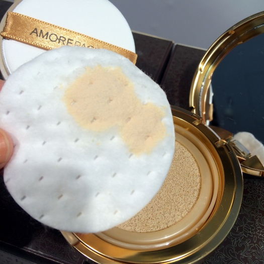 03 AmorePacific Resort Collection Sun Protection Cushion Review
