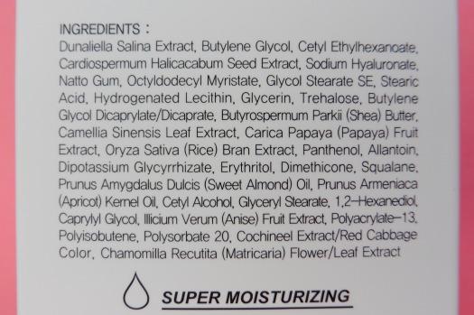 06 Hidemond Pinkblast Super Moisturizing Cream Ingredients