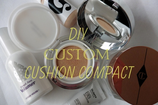 01 DIY Custom Cushion Compact Tutorial
