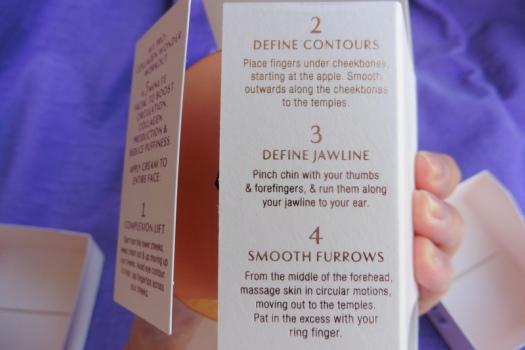 04 Charlotte Tilbury Magic Cream Massage Directions