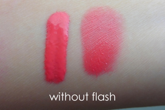 05 NoTS Lip Alive Color Mousse 03 Sweet Raspberry Swatch