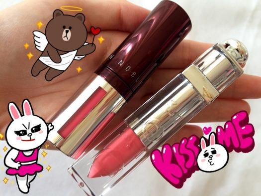 07 NoTS Lip Alive Color Mousse 03 Sweet Raspberry Dupe Dior Fluid Stick Rieuse