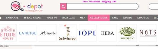 Q-depot Cruelty Free Korean Cosmetics