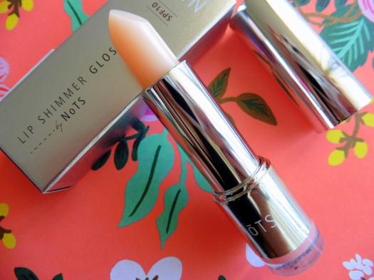 03 NoTS Lip Shimmer Gloss Review
