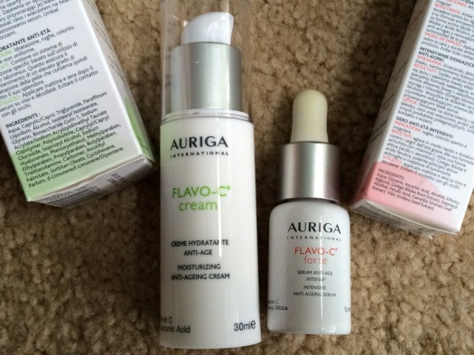 07 Auriga Flavo-C Creme and Forte Serum Ingredients