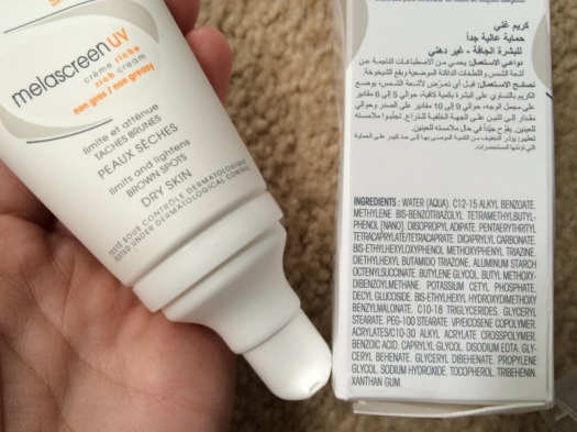 11 Ducray Melascreen UV Dry Skin Ingredients