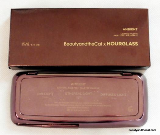 01 BeautyandtheCat x Hourglass Ambient Lighting Palette