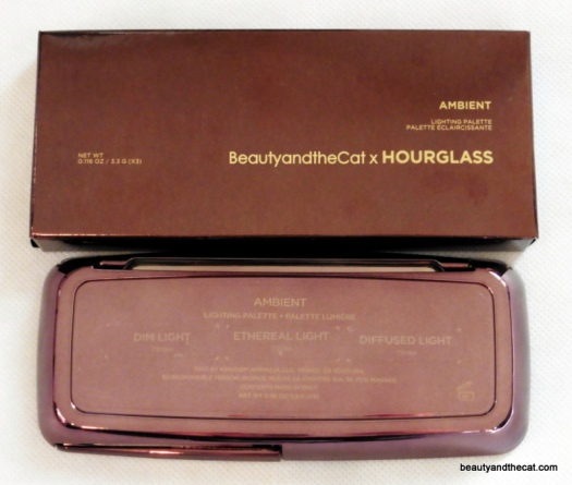 01 BeautyandtheCat x Hourglass Ambient Lighting Palette