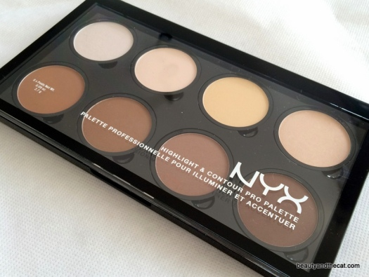 01 NYX Highlight Contour Pro Palette Review