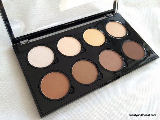 02 NYX Highlight Contour Pro Palette Review