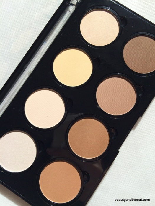 03 NYX Highlight Contour Pro Palette Review