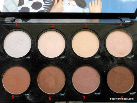 07 NYX Highlight Contour Pro Palette Review