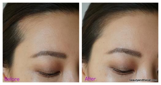 05 Mamonde Pang Pang Hair Shadow Before After