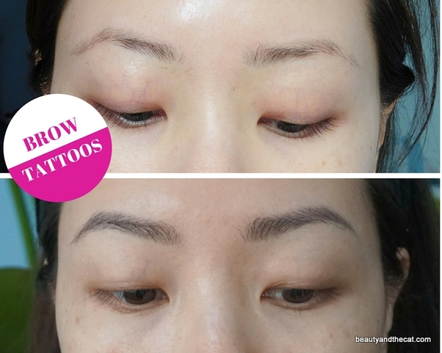 01 Brow Tattoo Before and After