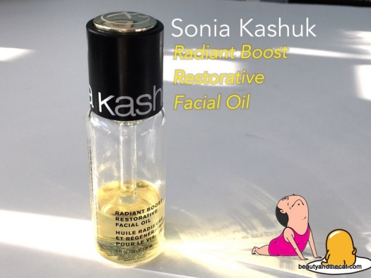 01 Sonia Kashuk Radiant Boost Restorative Facial Oil Review